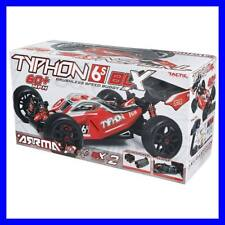ARRMA 1/8 TYPHON 4-6S BLX BRUSHLESS 4WD RTR RED/BLACK BUGGY W/ X2 LIPOS AR106013