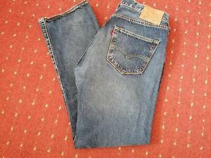 Levi Strauss Jeans 501 W36 L30 Lewis dunkel - Blau Hose Reißverschluss Nieten