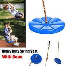 DAISY DISC SWING SEAT SET Heavy Duty Kids Play Fun Playground Accessories w/Rope