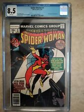 Spider-Woman #1 CGC 8.5 Origin of Spider-Woman; Marv Wolfman/T. DeZuniga