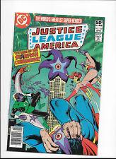 JUSTICE LEAGUE OF AMERICA #189 {APR 1981 DC} BRONZE AGE! F+ STARFISH CONQUEROR!