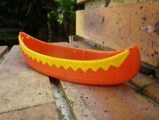 Vintage JEAN HOEFLER W GERMANY: CANOE INDIEN BON ETAT, trace de feutre au fond
