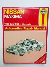 Repair Manual CHILTON 52452 fits 93-08 Nissan Maxima