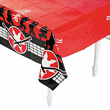 NINJA PARTY Ninja Warrior Table Cover  Tablecloth 137cm x 274cm Free Postage