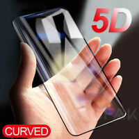 5D Curved Full Tempered Glass Film Screen Protector for Samsun S9 / S8 Plus