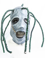 Corey Taylor Estilo Completo Cabeza Látex Máscara con rastas Slipknot Fancy Dress