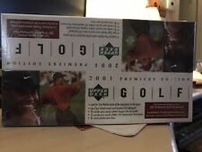 2001 UPPER DECK GOLF RACK BOX SEALED STRAIGHT FROM CASE