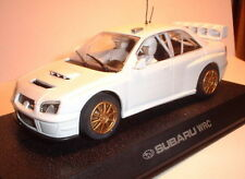 qq C2619 SCALEXTRIC UK SUBARU IMPREZA WRC PLAIN WHITE 500 UNITS LTD. EDITION