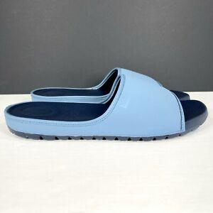 Fitflop Lido Slide Sandals Men's Size 13 Neoprene Sea Blue