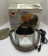 HoMedics SM-100 Therapist Select Kneading Shiatsu Massager with Head-Rest