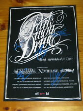 PARKWAY DRIVE - SIGNED AUTOGRAPHED ATLAS Australia Tour Poster - Laminated