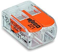 Wago Terminal Compact 2-leiter À 4 Millimètres Carrés 221-412