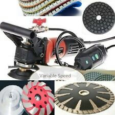 Wet Polisher Grinder 18 Diamond convex blade grinding cup pad stone concrete