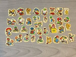 35 Retro Vintage 1990's Stickers Kids Children's Collection Stationary Cute