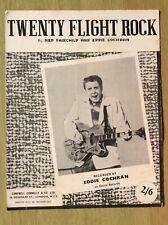 More details for 1957 ~ eddie cochran ~ twenty flight rock ~ original sheet music