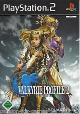 VALKYRIE PROFILE 2 SILMERIA for Playstation 2 PS2 - with box & manual - GERMAN