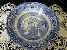 British 1960-1979 Blue & White Transfer Ware Pottery