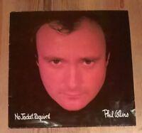Phil Collins – No Jacket Required Vinyl LP Album 33rpm 1985 Virgin V2345