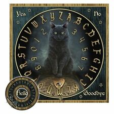 HIS MASTERS VOICE SPIRIT OUIJA BOARD 36cm CAT WICCA OCCULT HALLOWEEN PAGAN