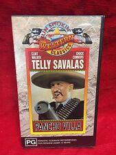 Pancho Villa VHS Video Tape Gun Smokin Western Classics Clint Walker NIB