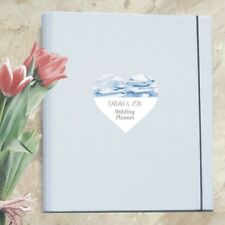 A4 Luxury Ultimate Wedding Planner/Organiser featuring Personalised Marble Heart