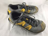 ALTRA Men's Lone Peak Trail Running Shoe Size US 12 Gray Yellow Style A11535