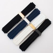 25mm*19mm rubber diver watch strap silicon band for HUBLOT 4 choose