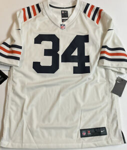 New Nike NFL Chicago Bears Walter Payton #34 On Field Jersey NWT Large Sweetness