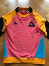 Adidas x Palace Pink Crewneck Sweatshirt - Size Medium