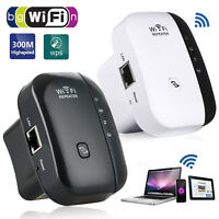 300Mbps Wireless-N AP Range 802.11 Wifi Repeater Signal Extender US/UK/EU Plug