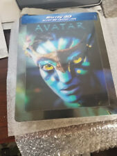 AVATAR STEELBOOK w/lenticular magnet [OOP/NEW/Blu-ray 3D+2D] France