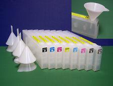8 Refill Cartridge for EPSON PRO 7800 9800 T5631 T5638
