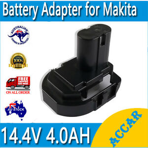 Battery Adapter for Makita BL1430 BL1415 Li-ion 3A  to 14.4V Tool 1240 1450 AU