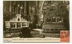 D16474 Paray-le-Monial Chapelle de la Visitation 1932 Postcard France