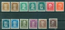 Deutsches Reich Einzelwerte aus 385 - 397  , *  , Berühmte Deutsche