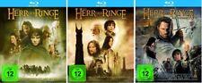 Der Herr der Ringe Teil 1+2+3 Blu-ray Set NEU OVP Alle 3 Teile