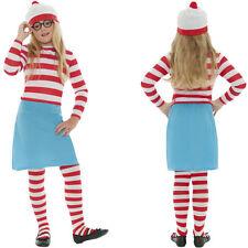 Smiffys Costume Carnevale Halloween Travestimento Waldo Dov'è WALLY (f1r)