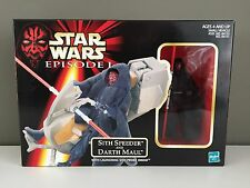 SITH SPEEDER and DARTH MAUL action figure STAR WARS Episode I 1998 Hasbro