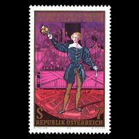 Austria 2001 - Birth of Leopold Ludwig Doebler Art - Sc 1856 MNH