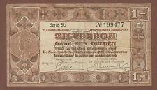 alter Geldschein 1 Gulden 1938 schönes Stück