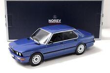1:18 Norev BMW M535i E28 Sedan blue 1987 NEW bei PREMIUM-MODELCARS