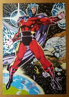Magneto Erik Hansen Earth Space Mutant Genesis Marvel Comics Poster by Jim Lee