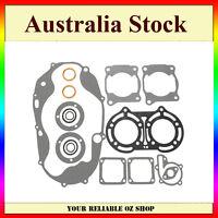 Complete Gasket Rebuild Kit Set Oil Seals For Yamaha Banshee YFZ 350 1987-2006