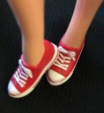 Sindy Doll RED Converse Trainers sneakers Shoes 1/6 Sindy/Similar Size New Pumps
