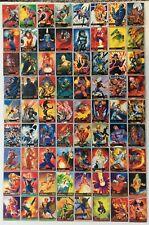 1995 Fleer Ultra Marvel X-Men Trading Cards COMPLETE BASE SET, #1-150 - NM/M