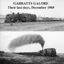 Steam train sounds - GARRATTS GALORE! the SAR 400 class Garratts in 1969