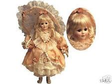 """Franklin Mint Victorian Girl w/Parasol 15"""" Doll Maryse Nicole Nib ~Very Rare"""