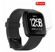 For Fitbit Versa Smart Watch 3 x Tempered Glass Screen Protector