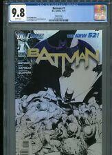 Batman #1  New 52  (Sketch cover)   CGC 9.8  WP
