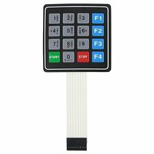 4x4 16 Key Matrix Membrane Switch Keypad Keyboard 76x69x0.8mm
